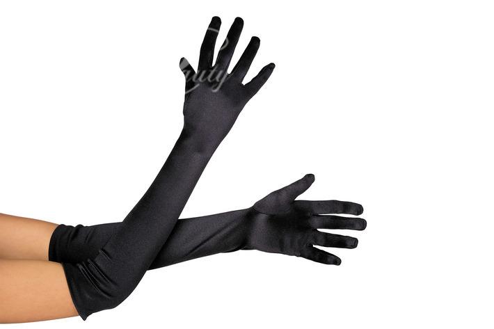 Сексуальные перчатки черные